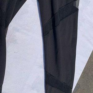 Old Navy go dry Mesh front high waisted leggings